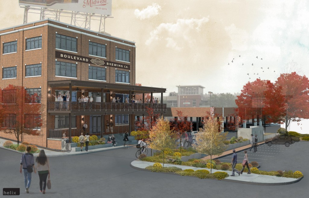 Boulevard Brewery Visitor Center Rendering