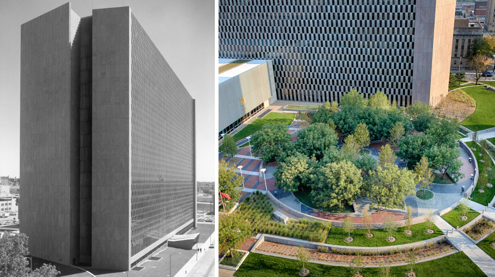 Richard Bolling Federal Building Site Before + After