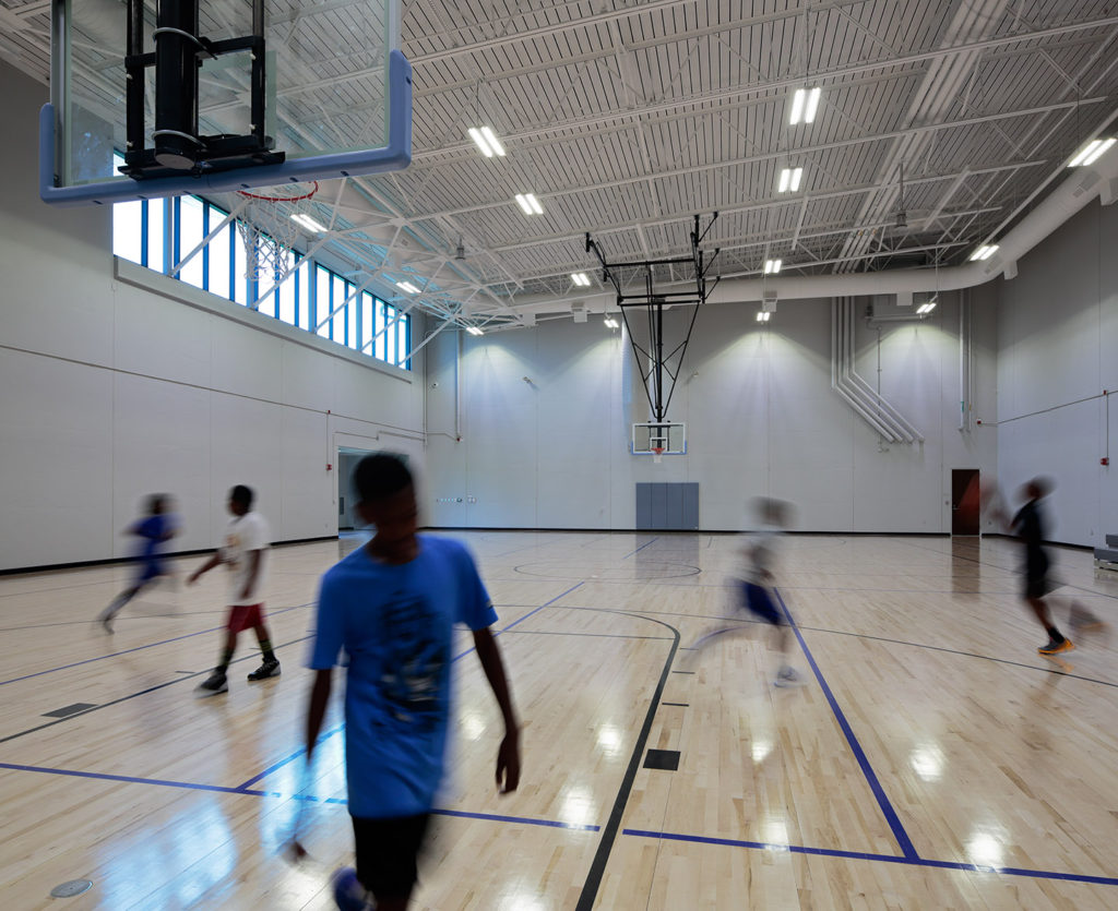 Gymnasium at Leon Mercer Jordan Campus
