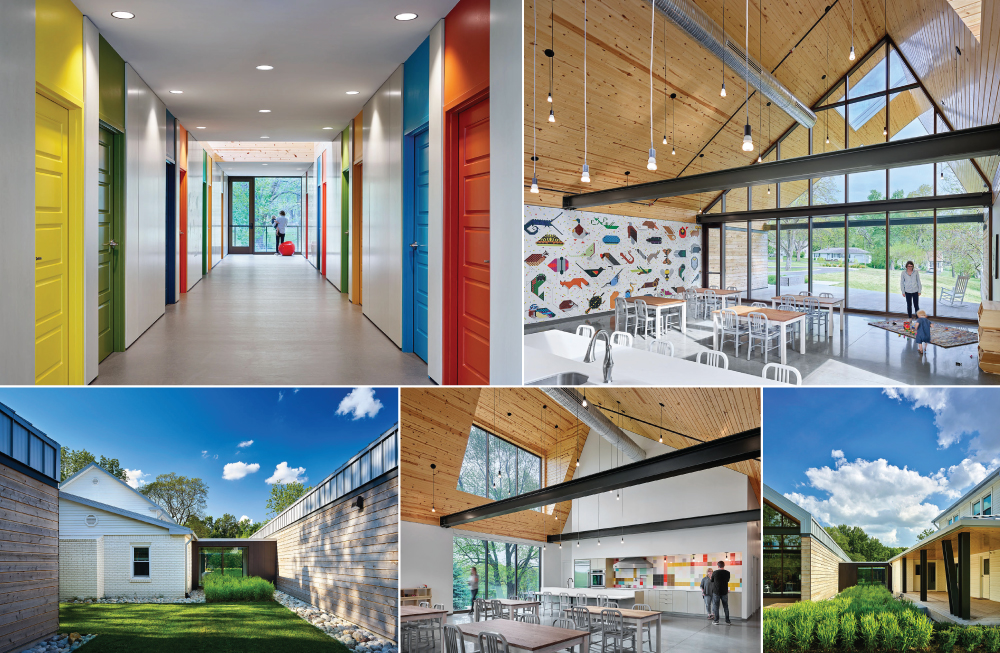 Historic Farmhouse Transformed into Childrens Center for Synergy