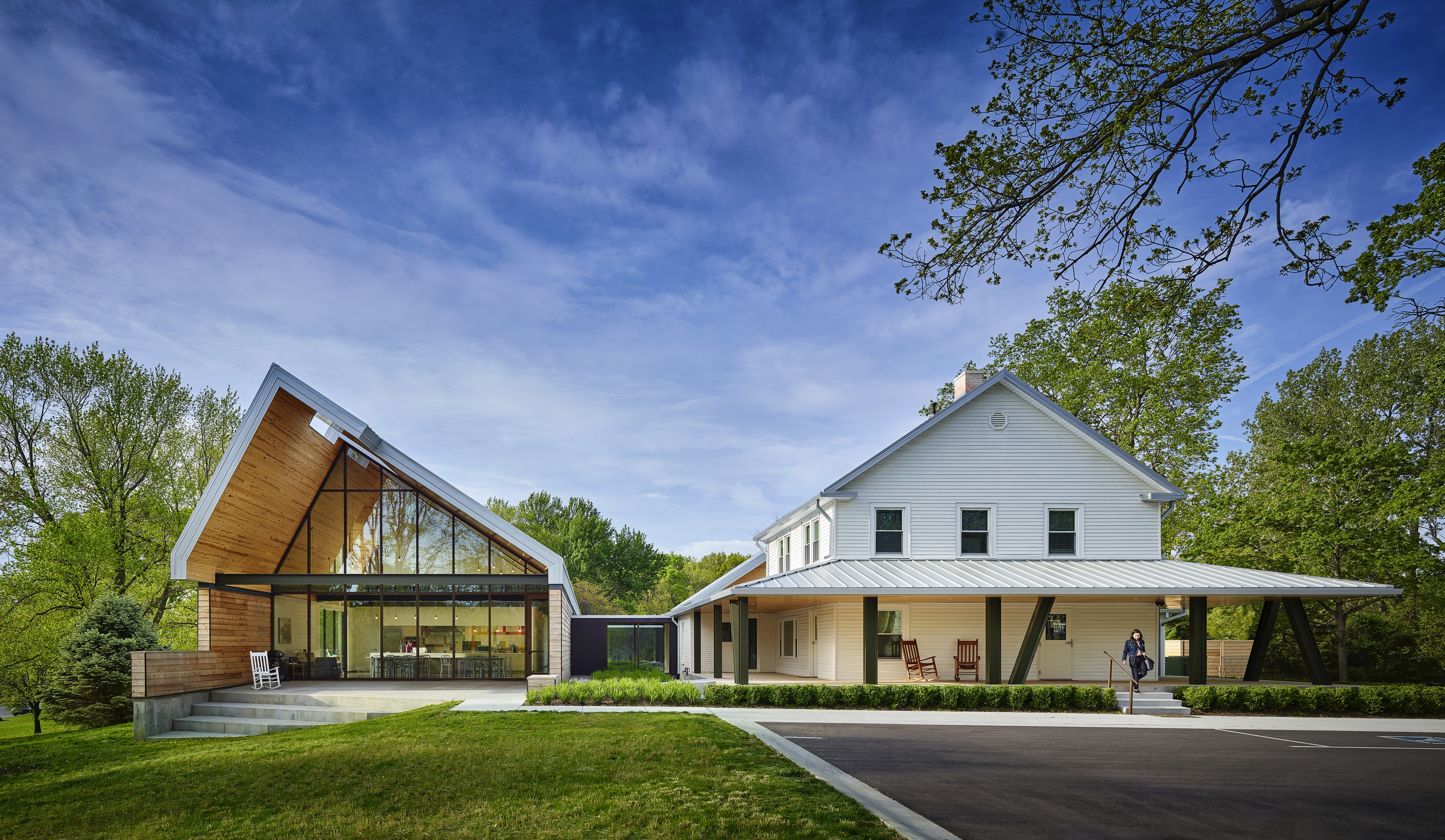 Historic Farmhouse Transformed Into Children S Center For Synergy Services Helix Architecture Design