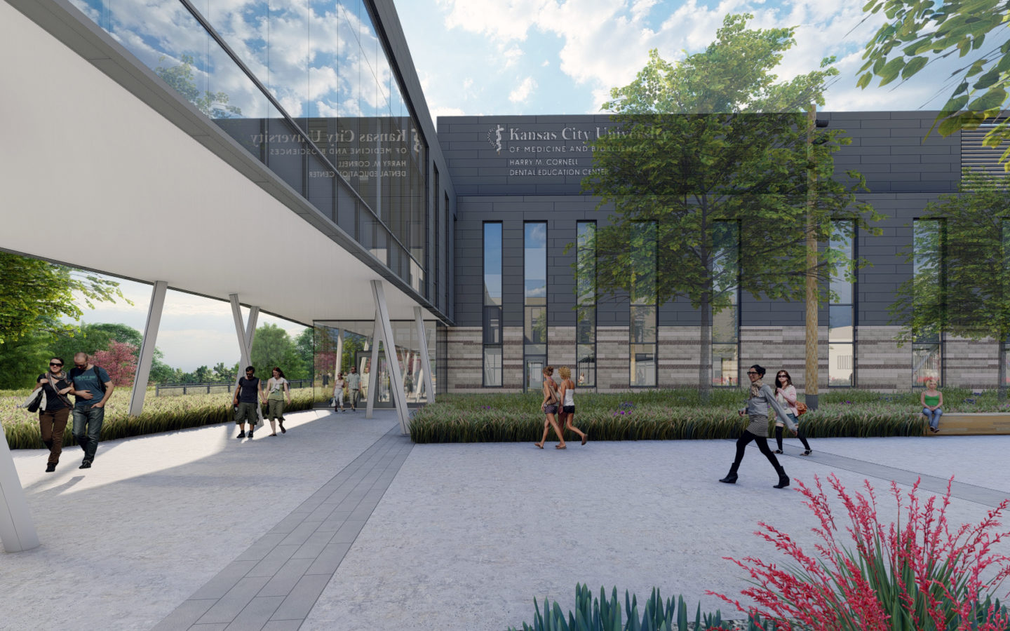 Rendering of KCU Dental School in Joplin